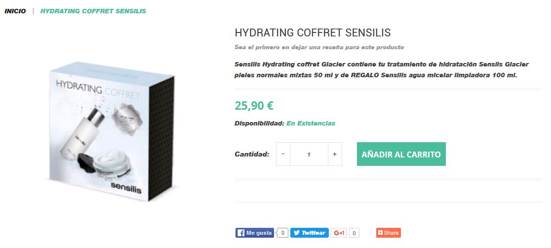 agua micelar sensilis donde comprar