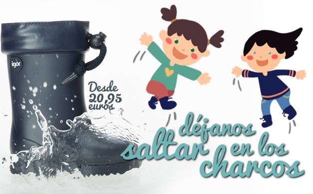 Comprar botas de agua para niñas Igor
