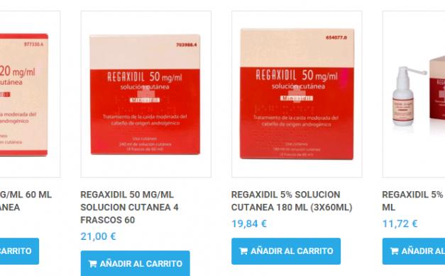 Lacovin 2 o Regaxidil 5. Cuál comprar online
