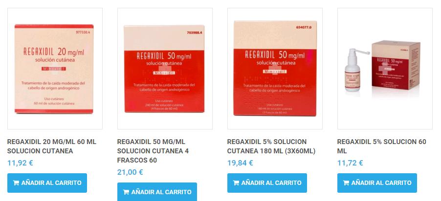 comprar regaxidil 2 online