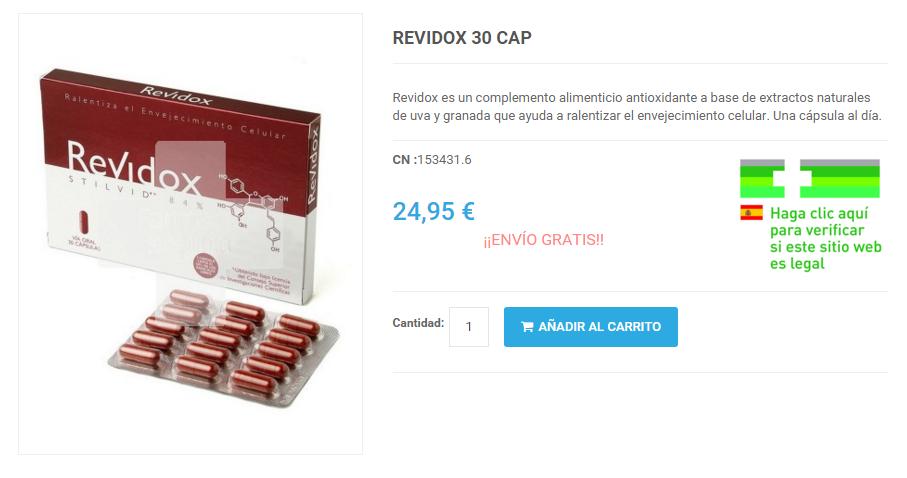 Revidox Barato comprar online